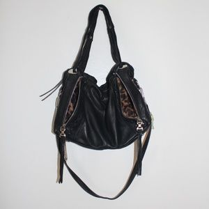 Black ULTRA soft leather Makowsky Isabel